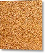 Dried Lentils, A Type Of Pulse Metal Print