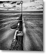 Drifting Sands Metal Print