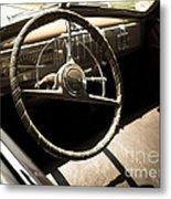 Driver's Seat Metal Print