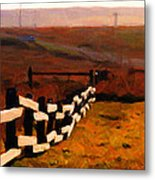 Driving Down The Lonely Road . Long Version Metal Print