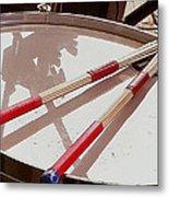 Drum At Rest Metal Print