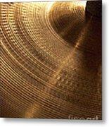 Drummers Music Metal Print