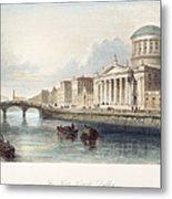 Dublin, 1842 Metal Print