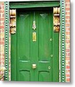 Dublin Door Three Metal Print