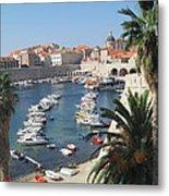 Dubrovnik Croatia Port Metal Print