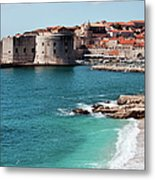 Dubrovnik Old City Metal Print