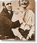 Duchenne Studying Physiognomy Metal Print by Science Source