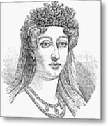 Duchess Of Angoul�me Metal Print