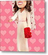 Duchess Of Cambridge Metal Print by Louisa Houchen
