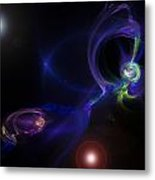 Dueling Galaxies Metal Print