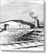 Dugout Home, 1871 Metal Print