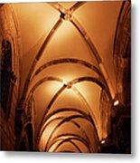 Duke's Palace Arched Ceiling Metal Print