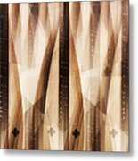 Dulcimer Abstract Metal Print