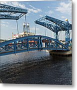 Duluth Draw Bridge 1 C Metal Print