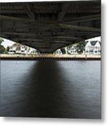 Duluth Lift Bridge Under 2 Metal Print