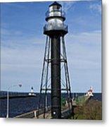 Duluth Lighthouses 1 Metal Print