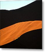 Dune Tunnel Metal Print