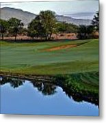 Dunes At Maui Lani 18th Fairway Metal Print