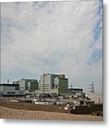 Dungeness Power Station Metal Print