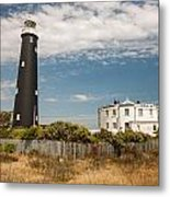 Dungeness View Metal Print