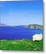 Dunmore Head, Blasket Islands, Dingle Metal Print