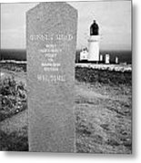 Dunnet Head Most Northerly Point Of Mainland Britain Scotland Uk Metal Print by Joe Fox