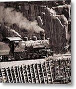Durango And Silverton Steam Train Metal Print