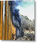 Durango Silverton Painterly 3 Metal Print