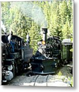 Durango Silverton Steam Locomotive Metal Print