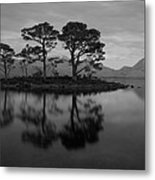 Dusk At Loch Maree Metal Print