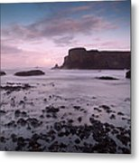 Dusk At Yaquina Head Lighthouse Metal Print