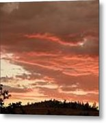 Dusk With Color Metal Print