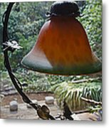 Dusty Old Lamp In Morning Light Metal Print