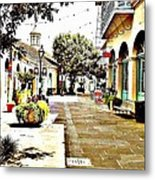 Dutch Alley  Metal Print