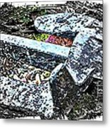 Duty Is Done - Warship Anchor Metal Print