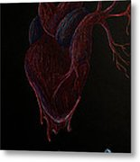 Dying Heart Metal Print