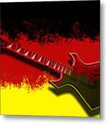 E-guitar - German Rock II Metal Print