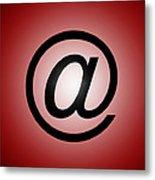 E-mail Symbol Metal Print