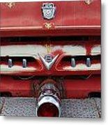 E Town Fire Truck Metal Print