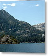 Eagle Falls In Emerald Bay Metal Print