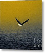 Eagle Haze Metal Print