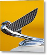 Eagle Hood Ornament Metal Print