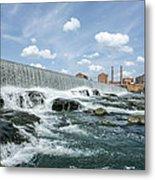 Eagle-phenix Dam Metal Print