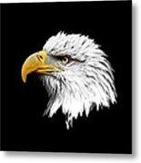 Eagle Profile Metal Print