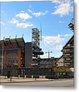 Eagles - The Linc Metal Print