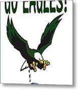 Eagles Vs Dallas Metal Print