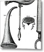 Ear Trumpets Metal Print