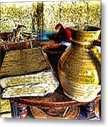 Early Colonial Still Life Metal Print