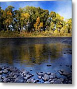 Early Fall At The Headwaters Of The Rio Grande Metal Print by Ellen Heaverlo