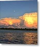 Early Moon Metal Print by Bob Jackson